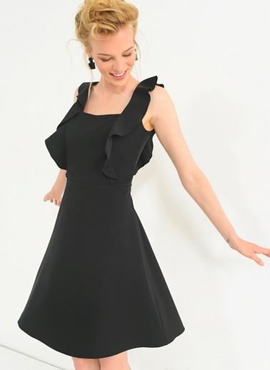 Volanlı Elbise-People By Fabrika
